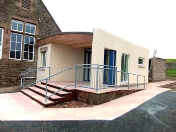 Coldingham Bay Berwickshire New Build